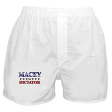 MACEY for dictator Boxer Shorts