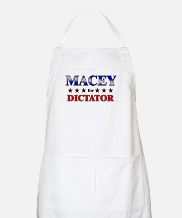 MACEY for dictator BBQ Apron