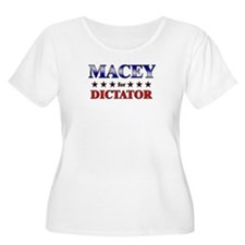 MACEY for dictator T-Shirt
