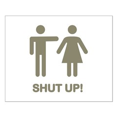 SHUT UP! (GUYS) Posters