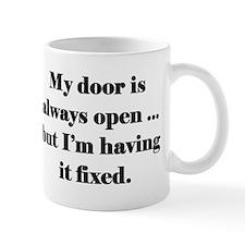 Open Door Policy Small Mugs