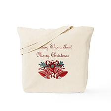 Irish Christmas Tote Bag