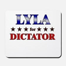 LYLA for dictator Mousepad
