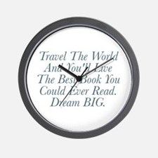 Live The Best Book Wall Clock