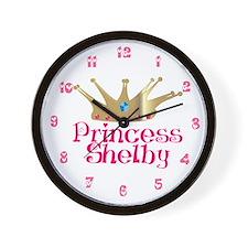 Princess Shelby Wall Clock