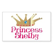 Princess Shelby Rectangle Decal