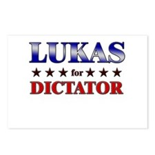 LUKAS for dictator Postcards (Package of 8)