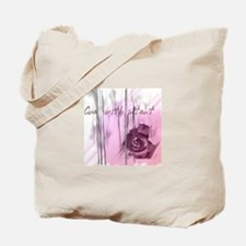 """""""Cue with intent"""" Tote Bag"""