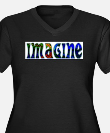 IMAGINE Plus Size T-Shirt