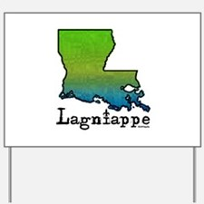 Louisiana Lagniappe Yard Sign