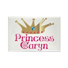 Princess Caryn Rectangle Magnet