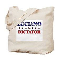 LUCIANO for dictator Tote Bag