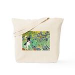 Irises / Toy Fox T Tote Bag