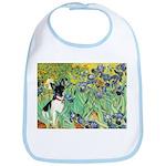 Irises / Toy Fox T Bib