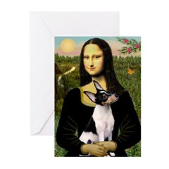 Mona / Toy Fox T Greeting Cards (Pk of 10)
