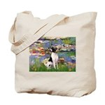 Lilies / Toy Fox T Tote Bag