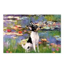 Lilies / Toy Fox T Postcards (Package of 8)