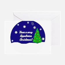 A Very Appaloosa Christmas Greeting Card