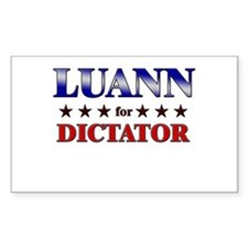 LUANN for dictator Rectangle Decal