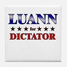 LUANN for dictator Tile Coaster