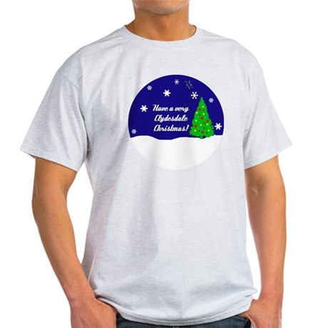 A Very Clydesdale Christmas Light T-Shirt