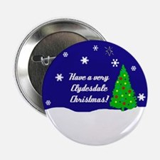 """A Very Clydesdale Christmas 2.25"""" Button"""