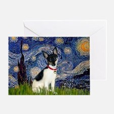 Starry / Toy Fox T Greeting Card