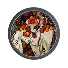 Plenty of Apples Wall Clock
