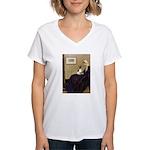 Whistler's / Toy Fox T Women's V-Neck T-Shirt
