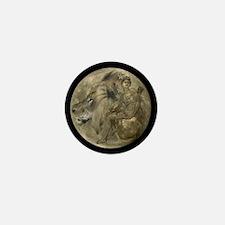 Hunter's Moon Mini Button