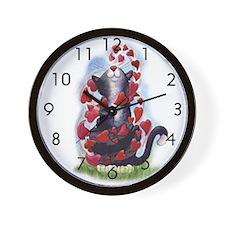Must Love Cats Wall Clock