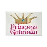 Princess Gabriella Rectangle Magnet (100 pack)