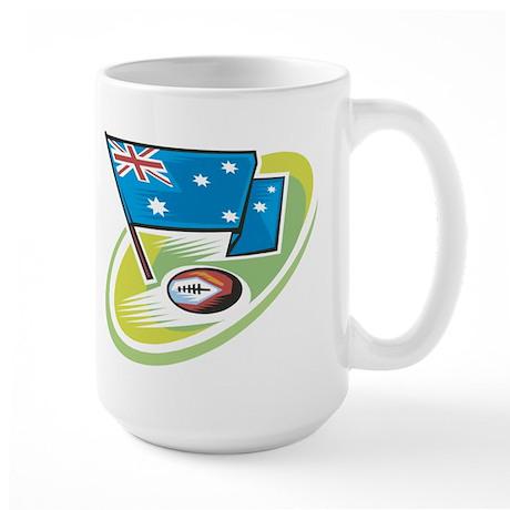 Australia Rugby Large Mug