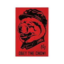 Chairman CHOW - Retro Propaganda Magnet
