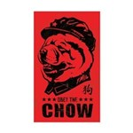 Chairman CHOW - Dog Propaganda Sticker