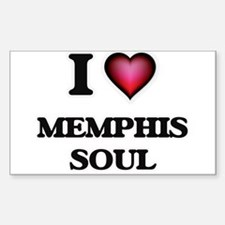 I Love MEMPHIS SOUL Decal