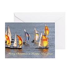 Christmas Sailing Greeting Cards (Pk of 20)