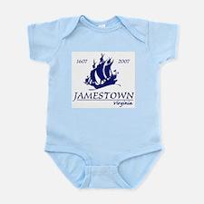 Jamestown Virginia Infant Bodysuit
