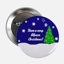"A Very Alpaca Christmas 2.25"" Button"