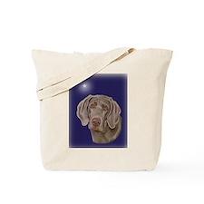 Weimaraner Xmas Star Tote Bag