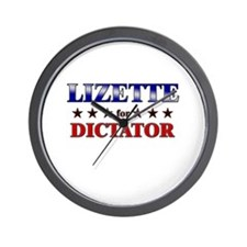 LIZETTE for dictator Wall Clock