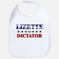 LIZETTE for dictator Bib