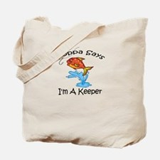 I'm A Keeper Poppa Tote Bag