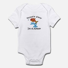I'm A Keeper Poppa Infant Bodysuit