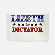 LIZETH for dictator Rectangle Magnet