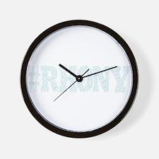 RHONY Wall Clock