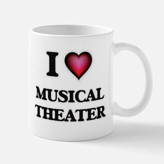 I Love MUSICAL THEATER Mugs