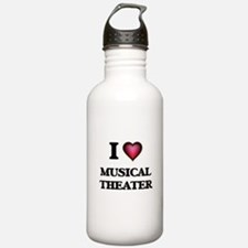 I Love MUSICAL THEATER Sports Water Bottle