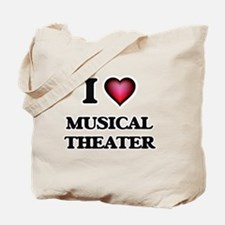 I Love MUSICAL THEATER Tote Bag