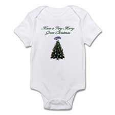 Green Christmas Infant Bodysuit